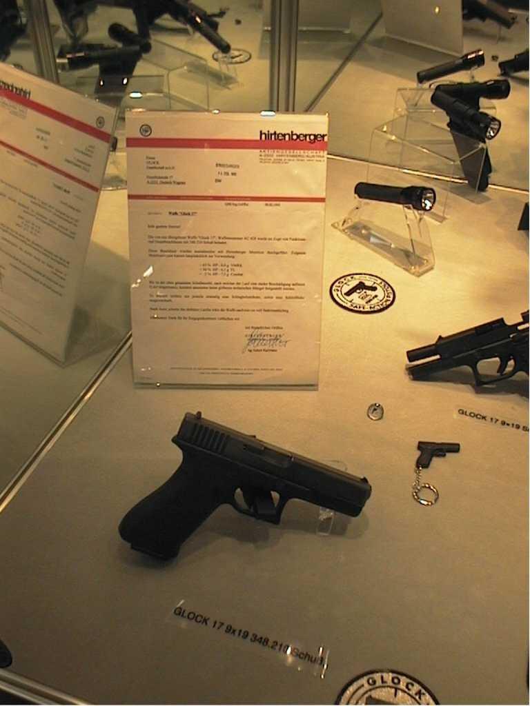 Usure Glock 17 Gen 4 Glock17